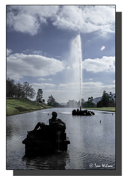 photoblog image Chatsworth - Into The Sun