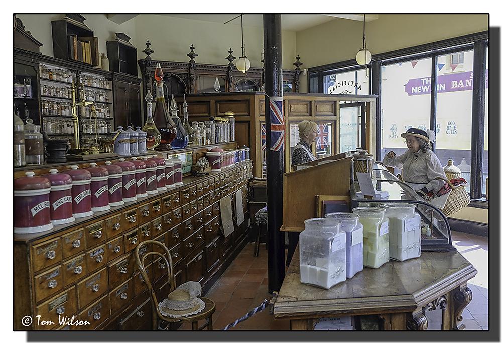 photoblog image Victorian pharmacy