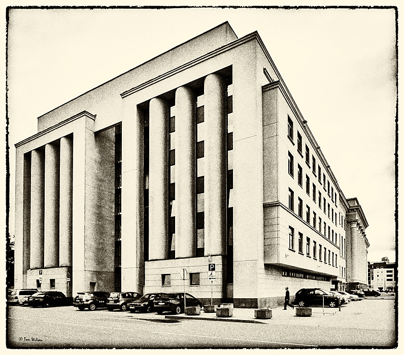 photoblog image Vilnius - National Library