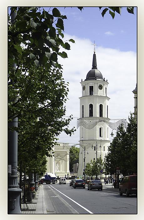 photoblog image Vilnius - Cathedral BellTower