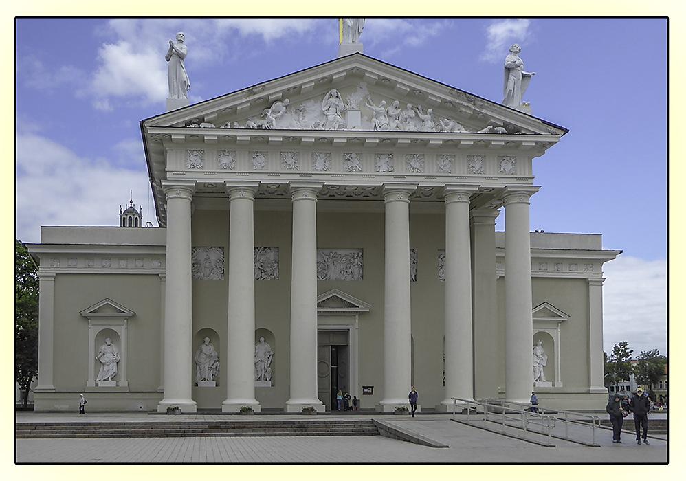photoblog image Vilnius Cathedral