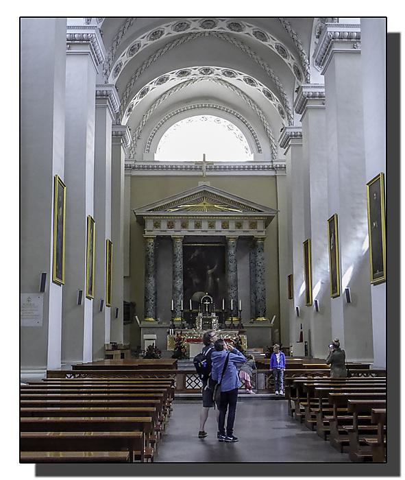 photoblog image Vilnius - Cathedral Interior