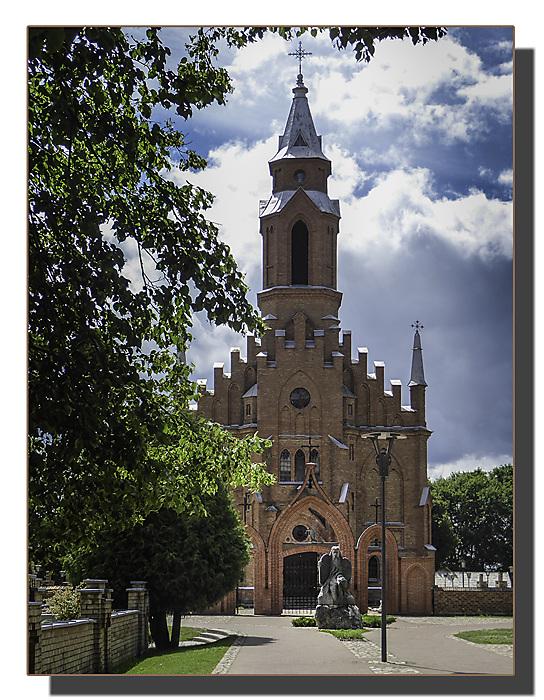 photoblog image Kernave - church