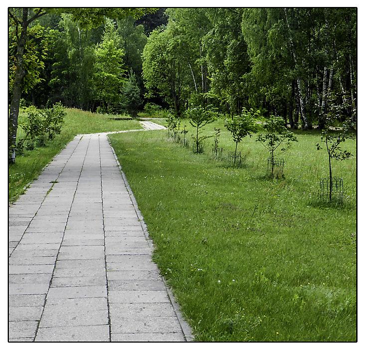 photoblog image Kernave-footpath
