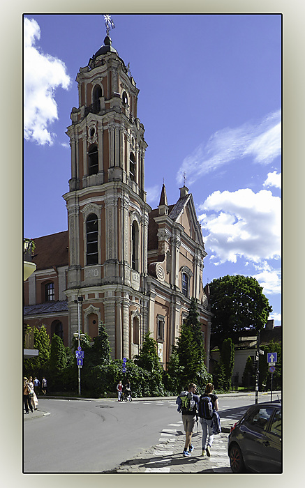 photoblog image Vilnius - All Saints Church