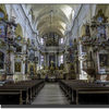 Vilnius-All Saints Church - interior