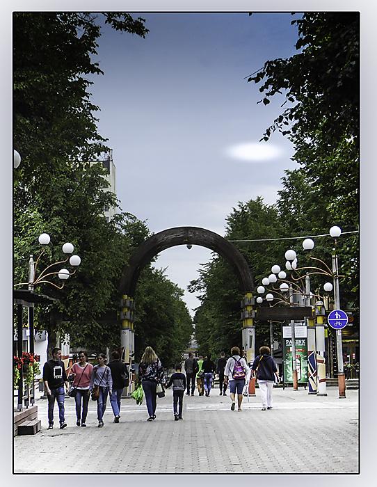 photoblog image Siauliai-street scene 2