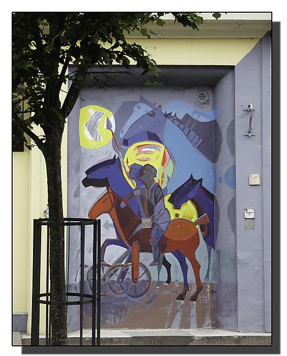 photoblog image Siauliai-street art 1
