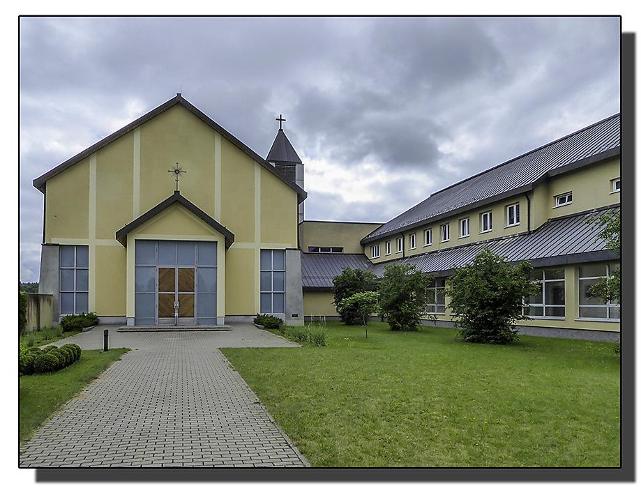photoblog image Palendriai-monastery buildings