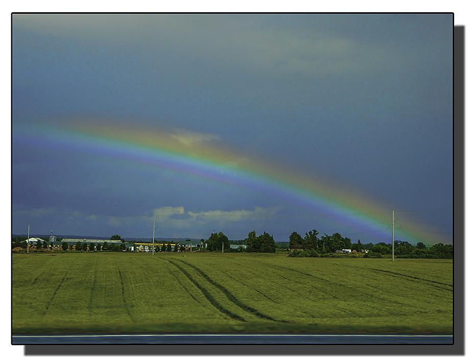 photoblog image Lithuanian Rainbow
