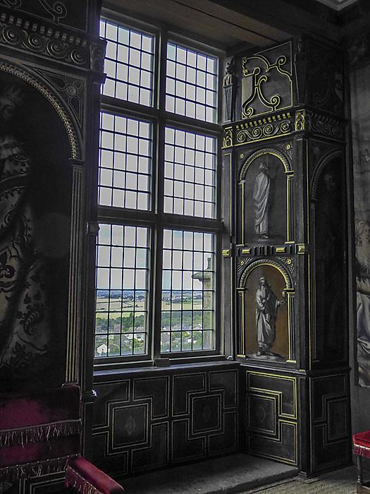photoblog image Bolsover Castle - window