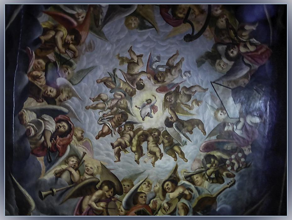 photoblog image Bolsover Castle - ceiling
