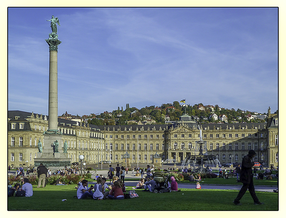 photoblog image Schlossplatz, Stuttgart