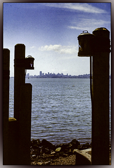 photoblog image San Francisco from across the bay