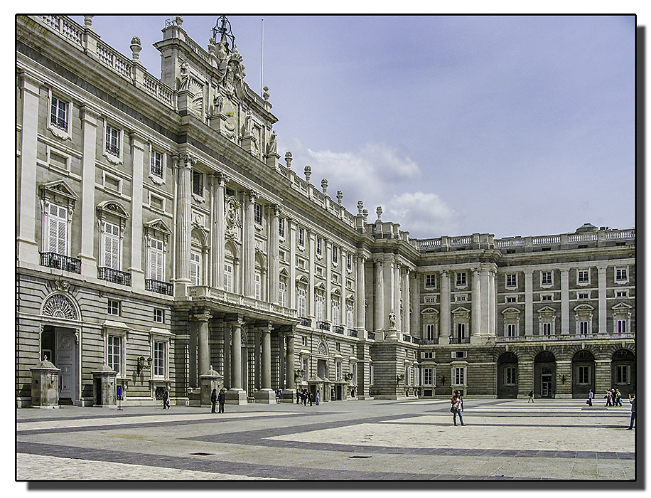 photoblog image Madrid - Royal Palace
