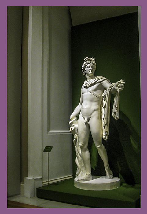 photoblog image Madrid - palace statue