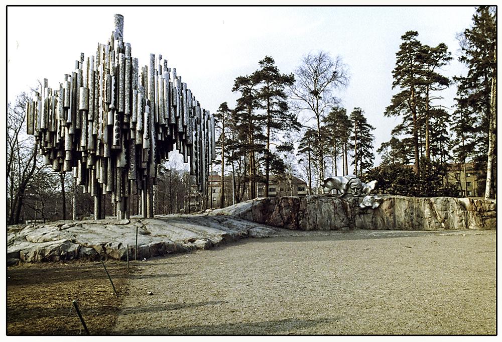 photoblog image Sibelius Monument