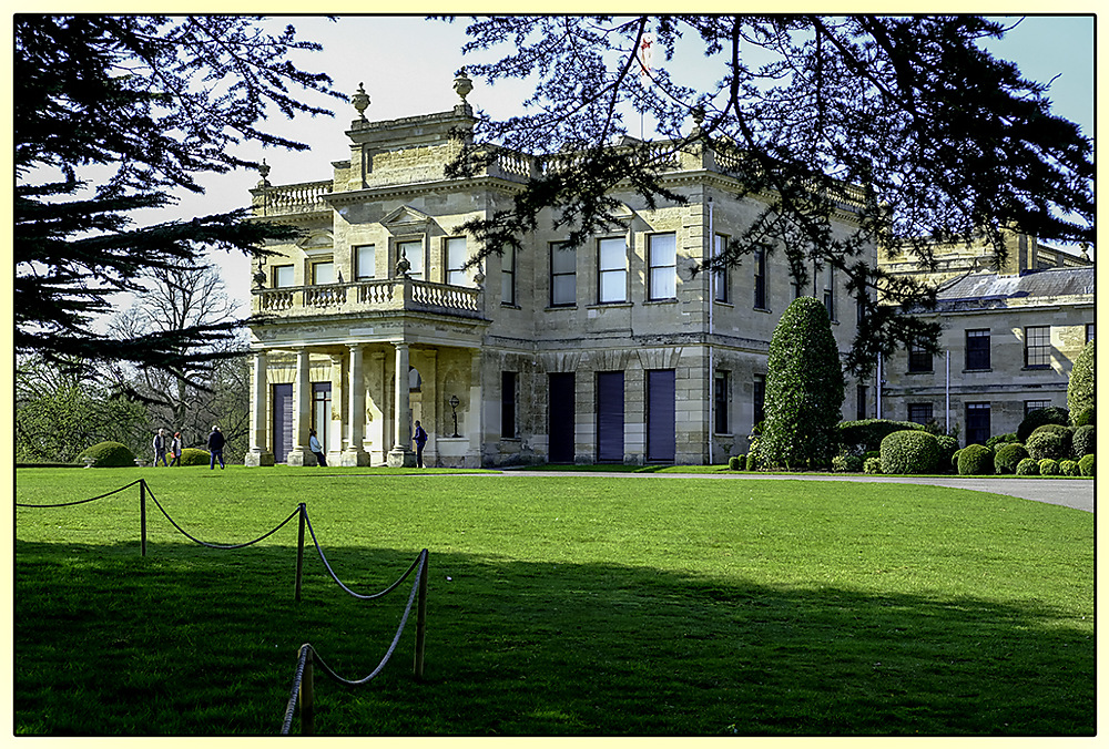 photoblog image Brodsworth Hall - main entrance