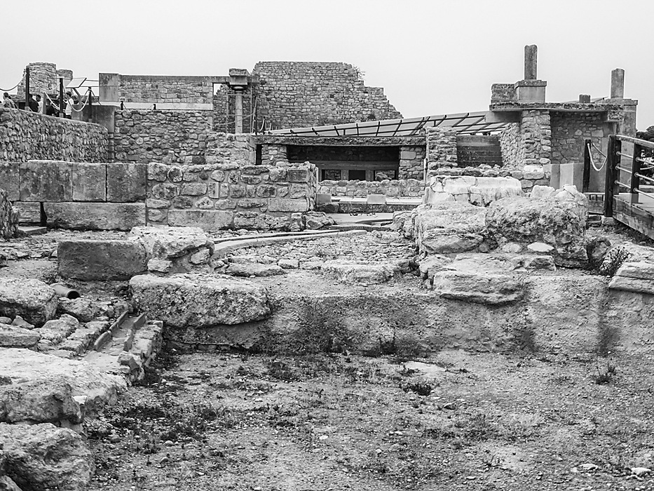 photoblog image Knossos - the west wing of the Palace