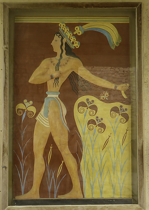photoblog image Knossos - Prince with the lilies.jpg