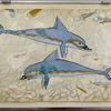 Knossos - Dolphin fresco - Heraklion museum