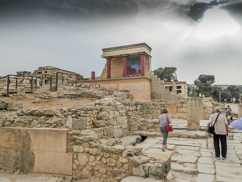 photoblog image Knossos - North entrance