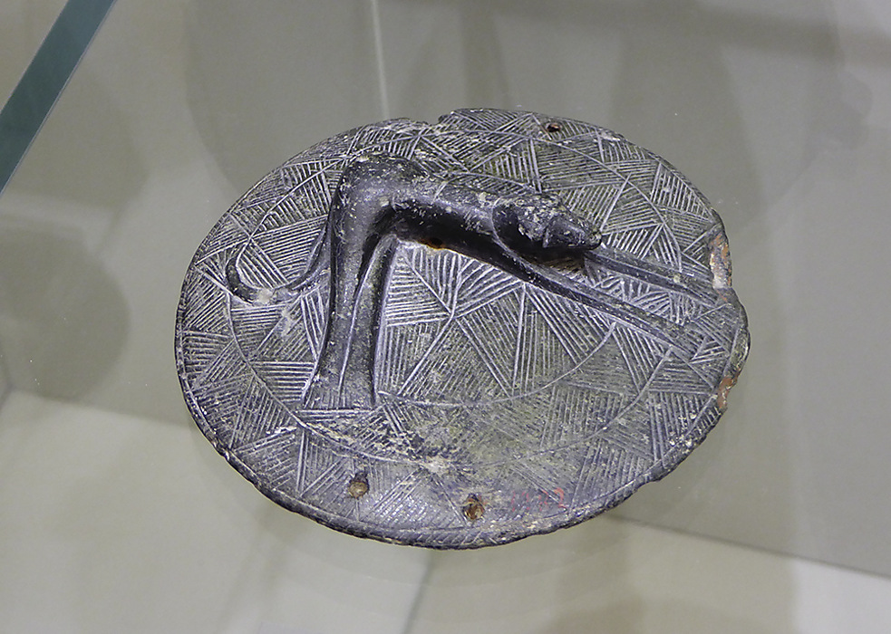 photoblog image Knossos - pot lid
