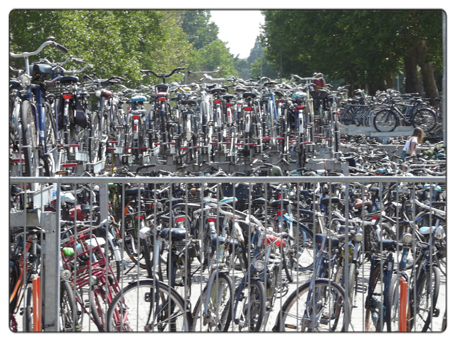 photoblog image Utrecht-bikes