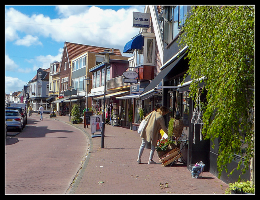 photoblog image Shopping in Sandpoort Nord