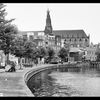 Leiden - Canal and St Ludwig's Church