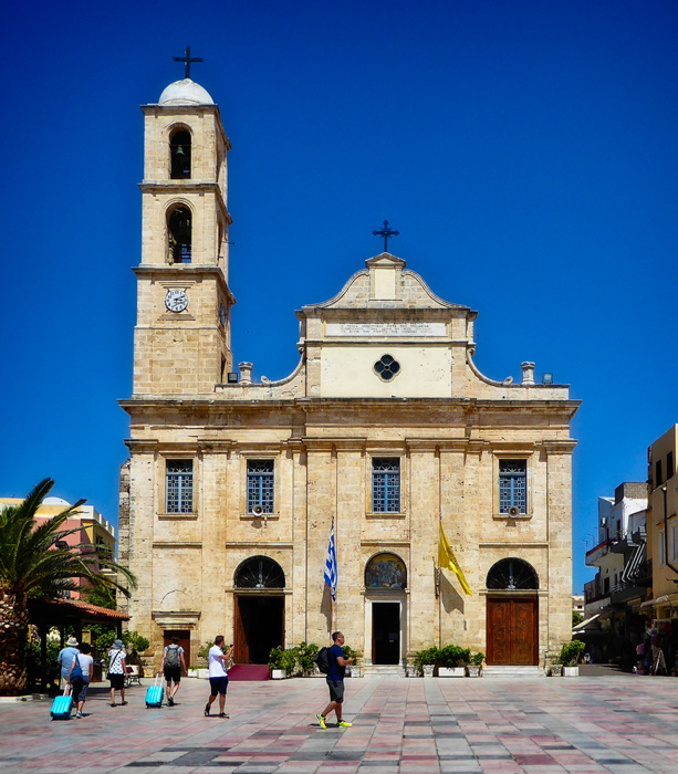 photoblog image Chania cathedral, Crete