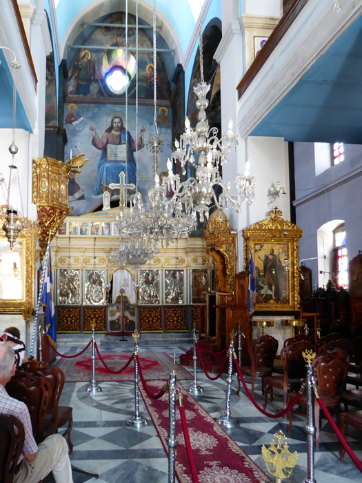 photoblog image Chania cathedral, Crete - Interior