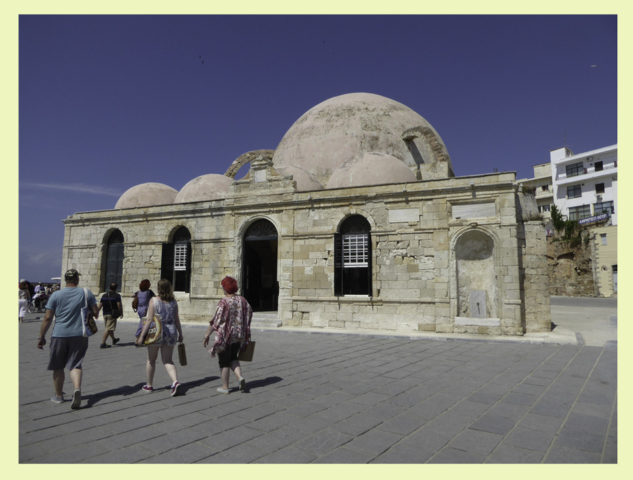 photoblog image Chania-Crete-Turkish bath