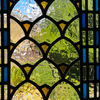 Stained glass view