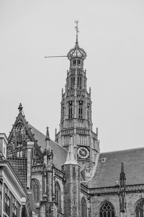 photoblog image Haarlem-Grote Kerk spire