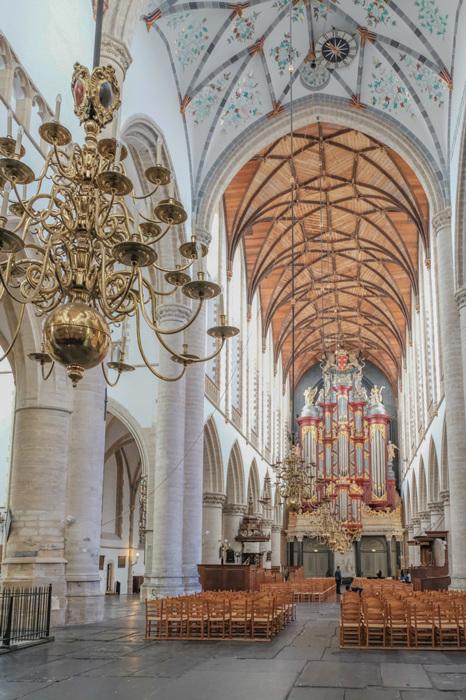 photoblog image Haarlem-Grote Kerk nave