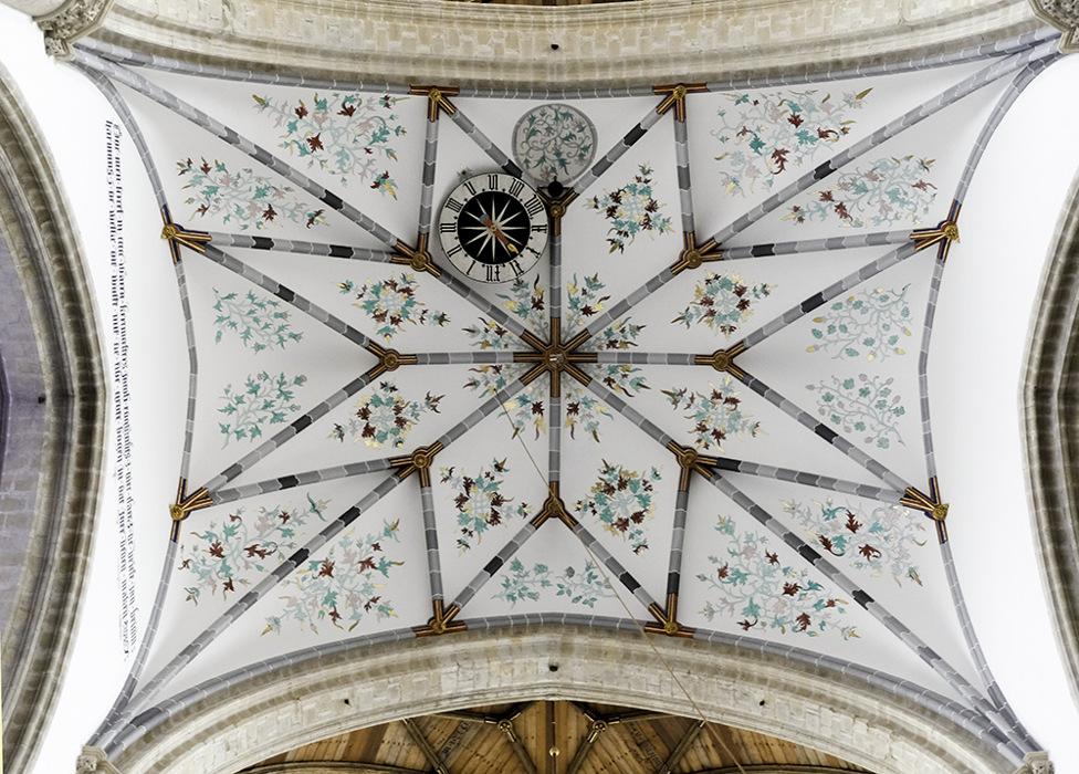 photoblog image Grote Kerk Ceiling