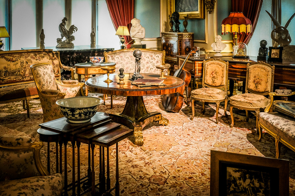 photoblog image Cliffe Castle Museum - Another interior