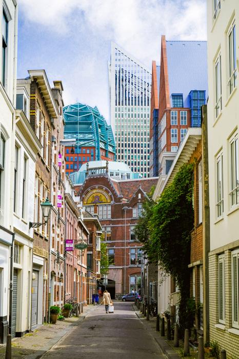photoblog image Den Haag-architectural variety