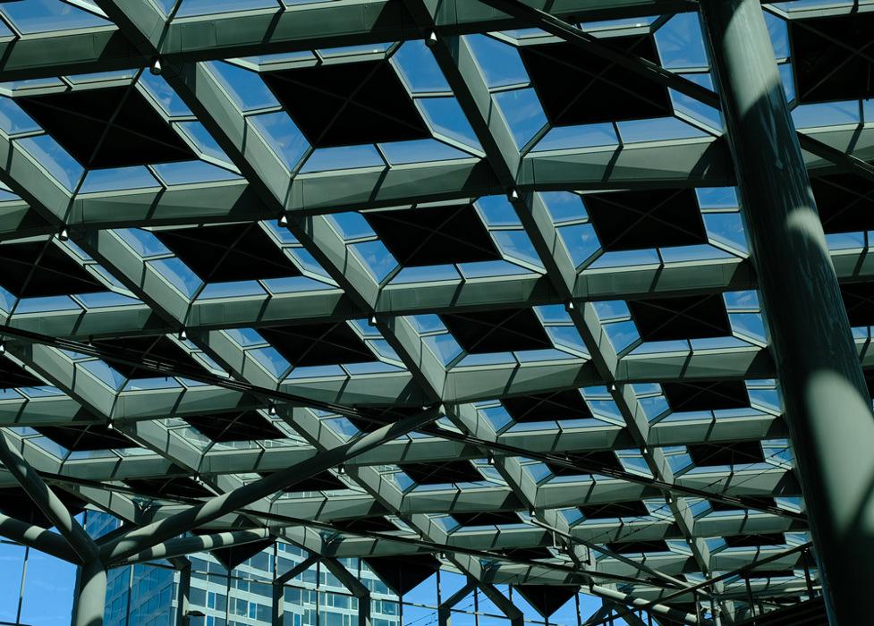 photoblog image Den Haag-roof technology