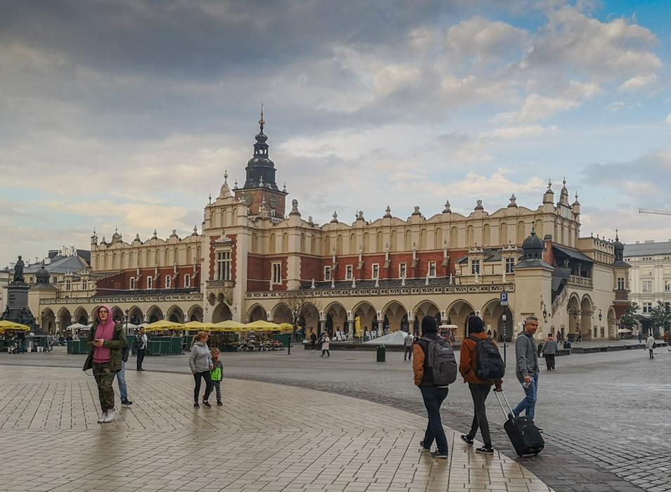 photoblog image A visit to Krakow - The Cloth Hall