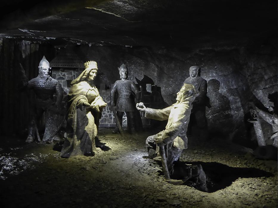 photoblog image Krakow-Wieliczka salt mine - 4