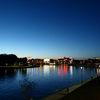Krakow-evening on the Vistula
