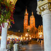 Krakow-Cathedral by night