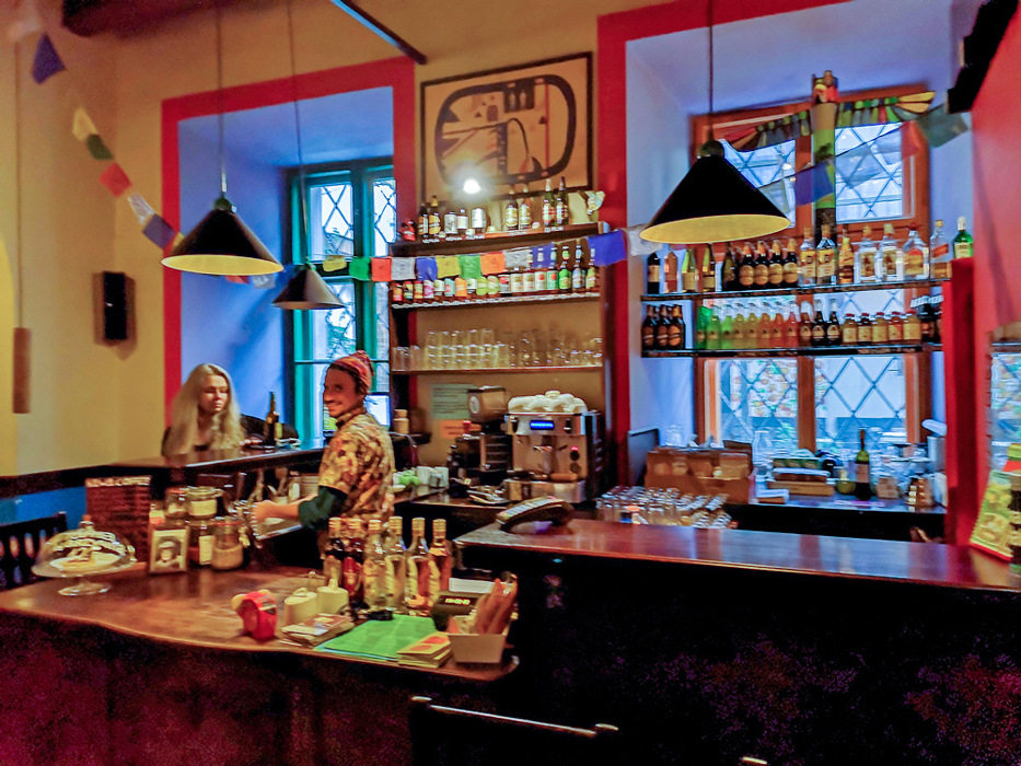 photoblog image Krakow-Coffee shop