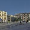 Krakow-Town square panorama