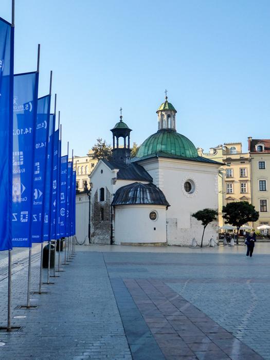 photoblog image Krakow-St. Adalbert's Church