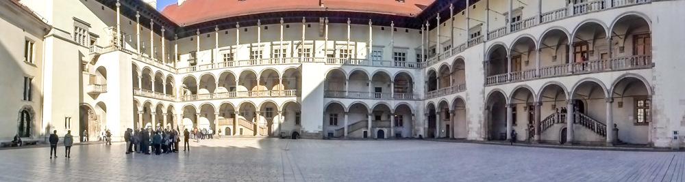 photoblog image Krakow-Wawel castle