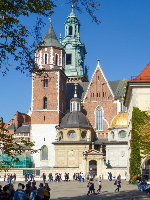 photoblog image Krakow-Wawel cathedral