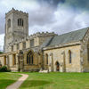 Burton Agnes Hall-village church